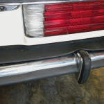 Mercedes 107 Chassis Euro Bumper