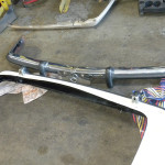 Mercedes 107 Chassis Euro Bumpers