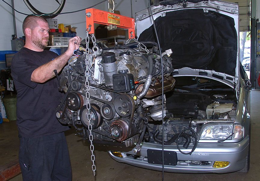 Mercedes Benz Engine Overhaul – AUTOBAHN Performance