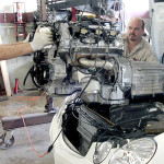 Mercedes Engine Overhaul