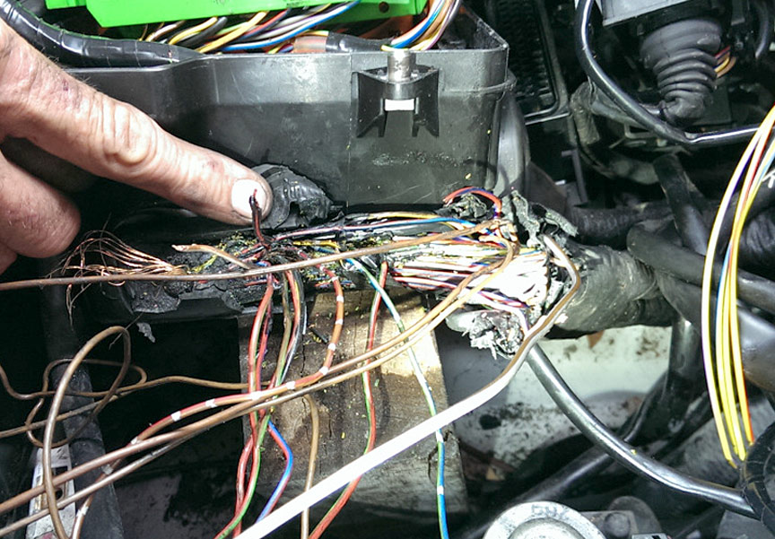 Mercedes v wire harness repair autobahn performance