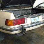 Mercedes 107 Chassis Euro Bumper Conversion