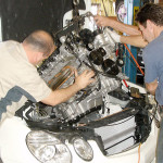 Mercedes Engine Rebuild Installation