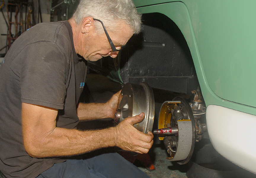 VW Bus Brake Repair